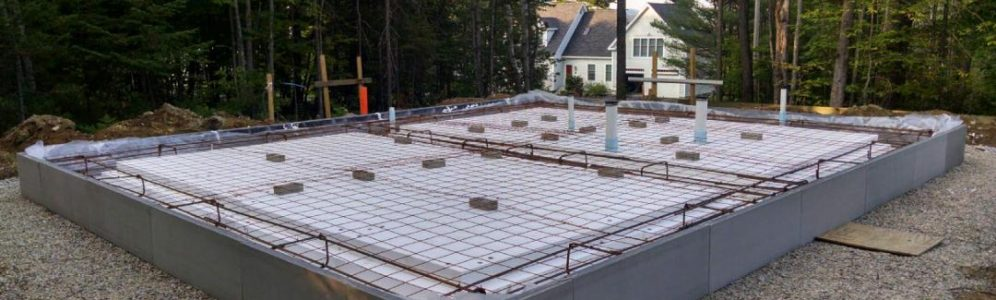 WarmFörm Frost Protected Shallow Slab Foundation