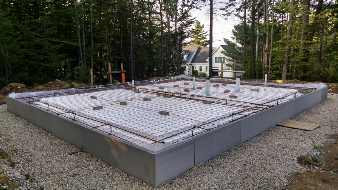 Warmf rm bygghouse for Floating slab foundation cold climates